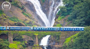 On Season Goa With DudhSagar Waterfall With 20% Flat off @15999 INR | Call 9818705209|TriFete Holidays Pvt. Ltd, Versova Mumbai