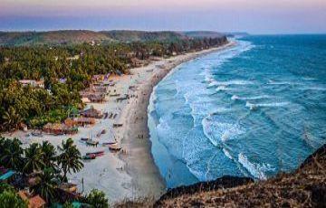 Goa Beach With 3-Star Resort