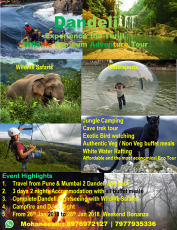 Fun at Goa with Dandeli Excursion 7 Night Only @34999 INR | Call 9818705209|TriFete Holidays Pvt. Ltd, Versova Mumbai