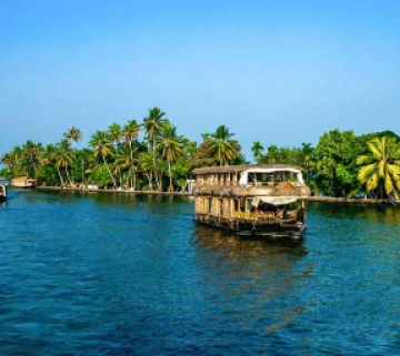 Alleppey Holiday Package With Houseboat For 2 Nights and 3 Days