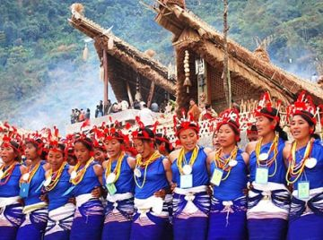 North East 2 states with Hornbill Festival