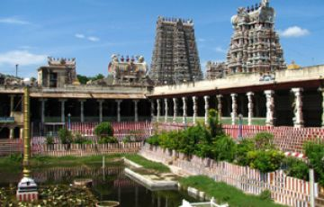 trichy Thanjavur Rameshwaram  Madurai