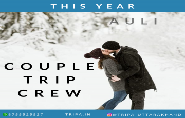 Auli couple trip resort | meal | couple photo shoot | video shoot