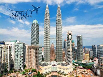 Malaysia  with Petronas Twin Towers Just Rs 5000 Jolly Holidays chennai
