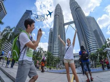 Malaysia  with Petronas Twin Towers Just Rs 5000 Jolly Holidays chennai