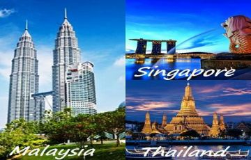 Three In One Package Singapore, Malaysia & Thailand