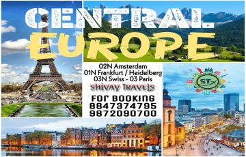 Central Europe - Amsterdam To Paris 2020 Group Departures