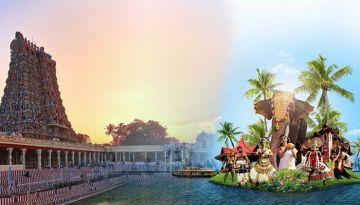 Kerala Tamilnadu Mega Tour for 8 Person