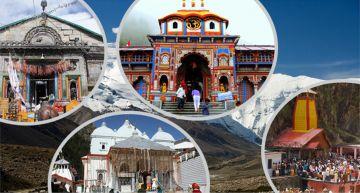 09 Days Char Dham Yatra with Haridwar Rishikesh Guptkasi Kedarnath Bdrinath  Srinagar