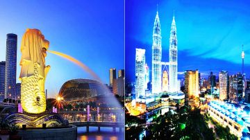 8 Days 7 Nights Singapore Malaysia Family Tour Package