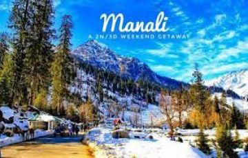 beauty of hills manali