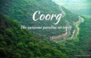 Weekend trip to Coorg for Family