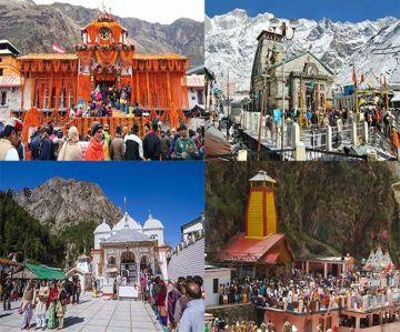 Chardham Yatra - Yamunotri, Gangotri, Kedarnath & Badrinath 8 Nights 9 Days