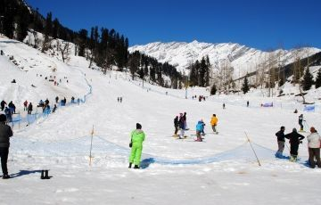 3N Kullu Manali Volvo Package with city tour ,Solang valley and Manikaran @ INR 6999 Per Person