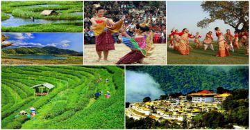 North East Guwahati,Tawang, Bomdila,Dirang Tezpur