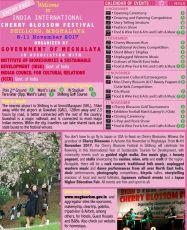 CHERRY BLOSSOM FESTIVAL 2017 - SHILLONG 8th - 11th NOV