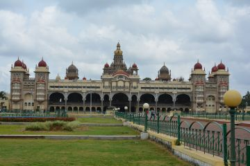 South India -- Coorg Abbey Falls, Ooty Hills, Mysore Palace