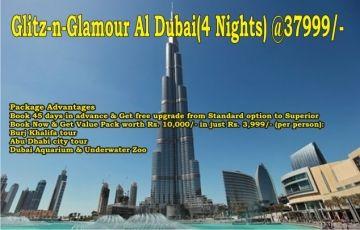 Glitz-n-Glamour Al Dubai(4 Nights)