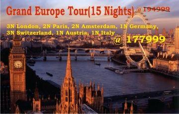 Grand Europe Tour(15 Nights)