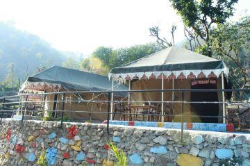 RISHIKESH  RAFFTING SWISS CAMPS FOR  1 Night - 2 Days