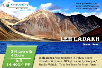 Leh Ladakh 3 Nights Tour Package
