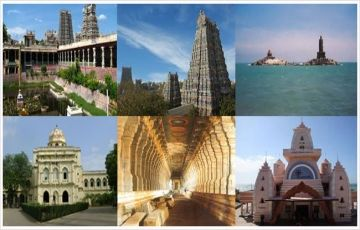 Enjoy Nature At Madurai, Rameswaram & Kanyakumari
