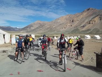 Manali- Leh Cycle Tour