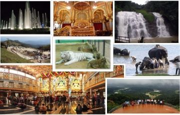 Bangalore, Mysore, Ooty (5 nights /6 days)