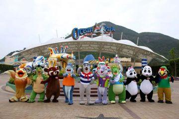 Hong Kong with Disneylan and Ocean Park