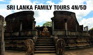 Sri Lanka 4N/5D Family Package.