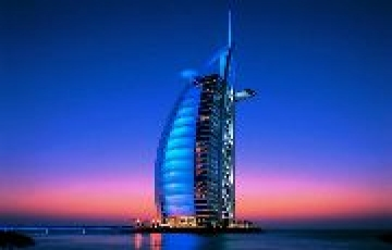 Dubai with Ferrari World