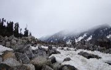 Snowing Himachal