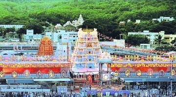 Package to Tirupathi