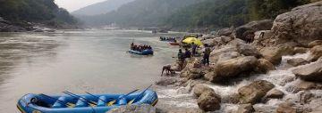 Rafting at Rishikesh/Shivpuri