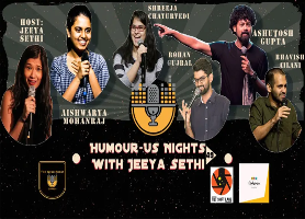 Humour-Us Nights 49 - With Jeeya Sethi