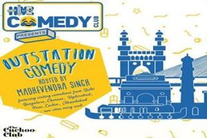 Outstation Comedy hosted by Madhevendra Singh