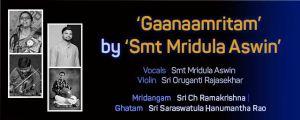 Carnatic Vocal – by Mridula Aswin
