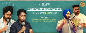 New Material Stand up Comedy Night