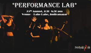 August'19 Performance Lab by Nrityakosh