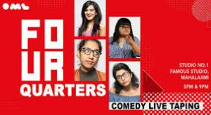 Four Quarters- Comedy Show Live Taping