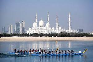 13th Abu Dhabi Dragon Boat Opening Festival