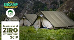 Encamping at Ziro Festival of Music