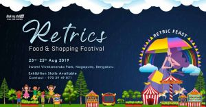Retrics Food & Shopping Festival at Bangalore - BookMyStall