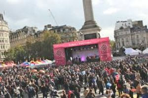Diwali on Trafalgar Square
