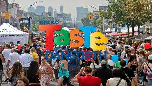 Taste of the Danforth Festival