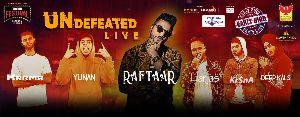 RAFTAAR - Undefeated Live