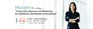 Workshop on Content Development and Marketing for Healthcare and Pharma Professionals