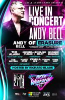 Andy Bell of Erasure, The Alarm, General Public English Beat & More at 80's Weekend 8