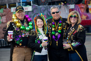 Krewe of Gemini Float Loading Party