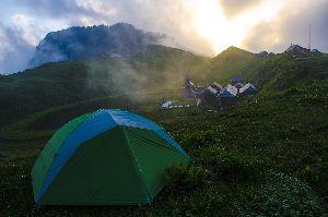 Prashar Lake Trip - Trekking, Camping and Bonfire